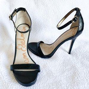 Sam Edelman Eleanor | Black Stiletto Heels